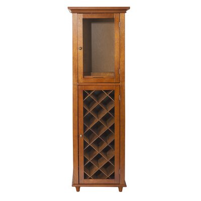 Elegant Home Fashions Napoli VI 16 Bottle Floor Wine Cabinet