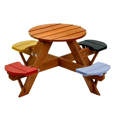 Swing Table swing town kids picnic table & reviews | wayfair