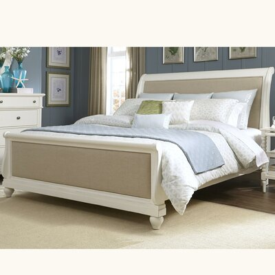 Liberty Furniture Upholstered Sleigh Bed