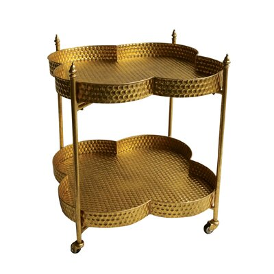 Creative Co-Op Flirt Serving Cart