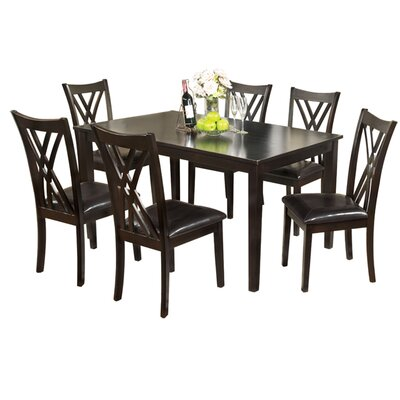 Hokku Designs Normandie 7 Piece Dining Set
