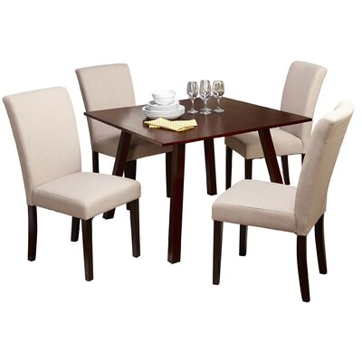 TMS Laurel 5 Piece Dining Set