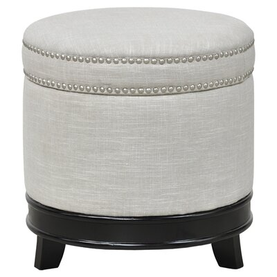 Villa Home Gretchen Upholstered Storage Ottoman