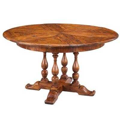 Sarreid Ltd Walnut Jupe Extendable Dining Table