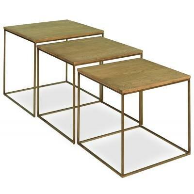 Sarreid Ltd 3 Piece Nesting Tables