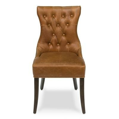 Sarreid Ltd Hinckley Leather Side Chair (..
