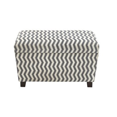 Woodland Imports 2 Piece Must-Have Strong Ottoman Set