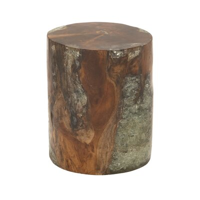 Woodland Imports Natural Ottoman