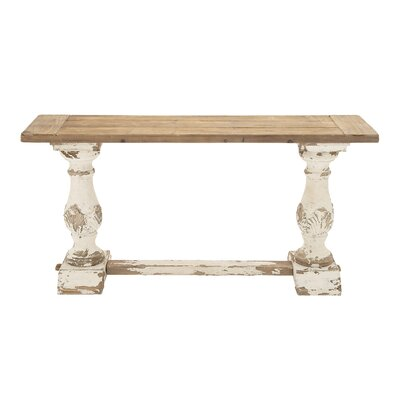 Woodland Imports Wood Console Table