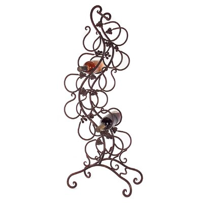 Astoria Grand Redmont 8 Bottle Floor Wine Rack