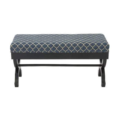 Woodland Imports Upholstered Bedroom Bench
