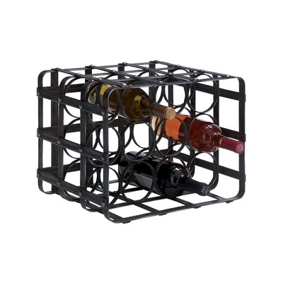 Woodland Imports 12 Bottle Tabletop Wine Rack