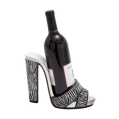 Woodland Imports Shoe 1 Bottle Tabletop Wine Rack