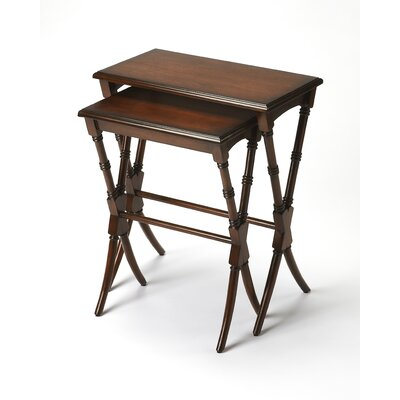 Bay Isle Home Creedmoor 2 Pieces Nesting Tables
