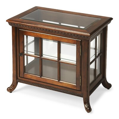 Butler Plantation Cherry Chair Side Curio Cabinet