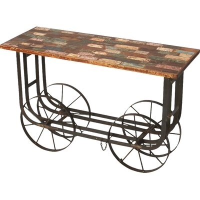 Butler Industrial Chic Console Table