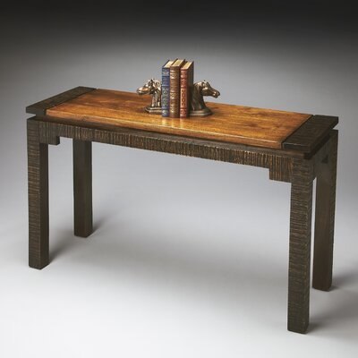 Butler Mountain Lodge Rustic Console Table