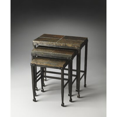 Butler Metalworks Burnham 3 Piece Nesting Tables