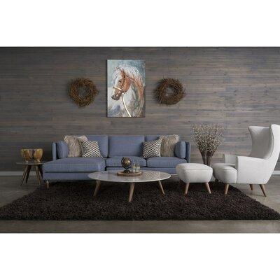 Corrigan Studio Cushendun 5 Piece Living Room Set with High Back Chair