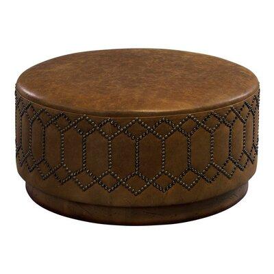 Leathercraft Youngston Leather Ottoman