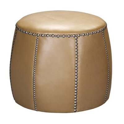 Leathercraft Tia Leather Ottoman