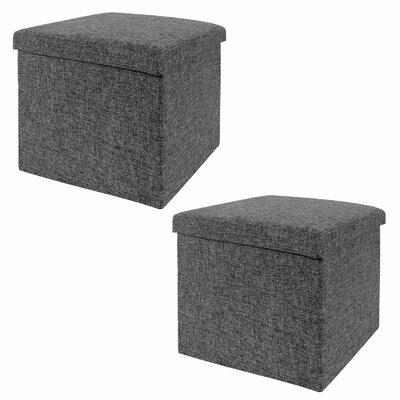 Seville Classics Foldable Storage Cube Ot..