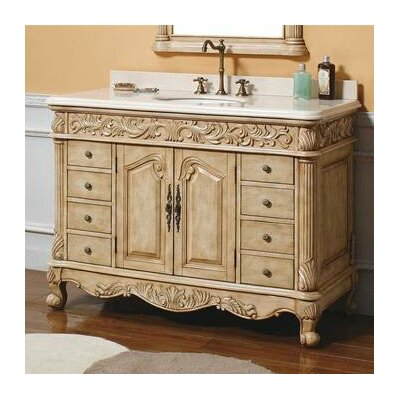 light wood bathroom vanity martin furniture parchment 48 quot single light wood 19255