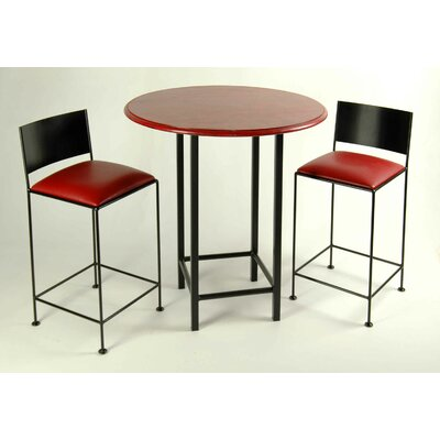 Grace Collection 3 Piece Pub Table Set