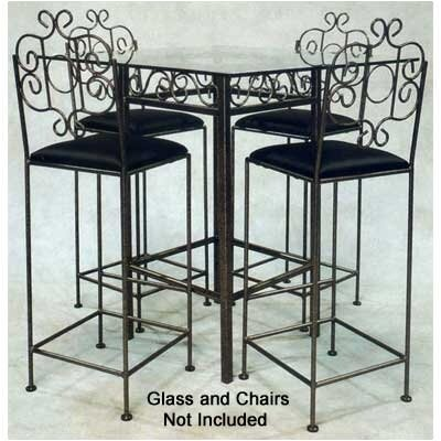 Grace Collection French Counter Height Pub Table Base