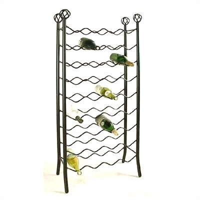 Grace Collection 36 Bottle Floor Wine Rack