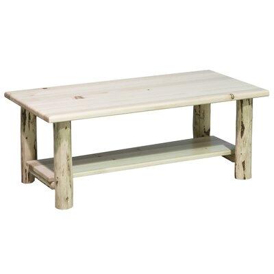Montana Woodworks® Montana Coffee Table with Shelf