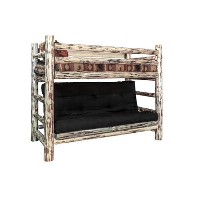 Montana Woodworks® Montana Twin over Full Futon Bunk Bed