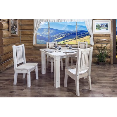 Montana Woodworks® Homestead 4 Post Square Dining Table