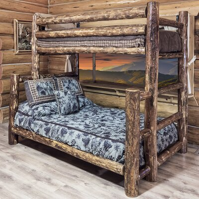 Montana Woodworks® Glacier Country Twin over Full Bunk Bed