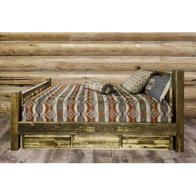 Montana Woodworks® Homestead Storage Platform Bed