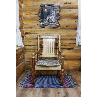 Montana Woodworks? Glacier Country Captain's Arm Chair