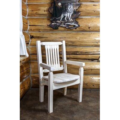 Montana Woodworks? Homestead Captain's Arm Chair