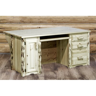 Montana Woodworks® Montana Executive's Office Desk