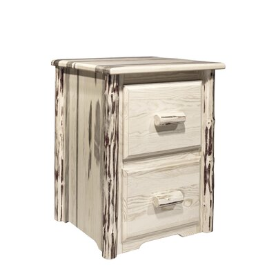 Montana Woodworks® Montana 2 Drawers File Cabinet