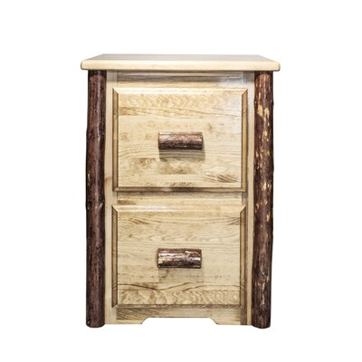 Montana Woodworks® Glacier Country 2-Drawer File Cabinet