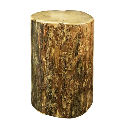 Montana Woodworks® Glacier Country Cowboy Stump End Table