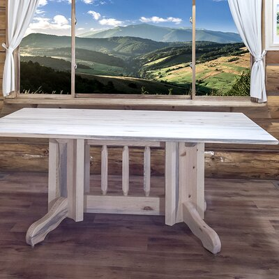 Montana Woodworks® Homestead Dining Table Doubl..