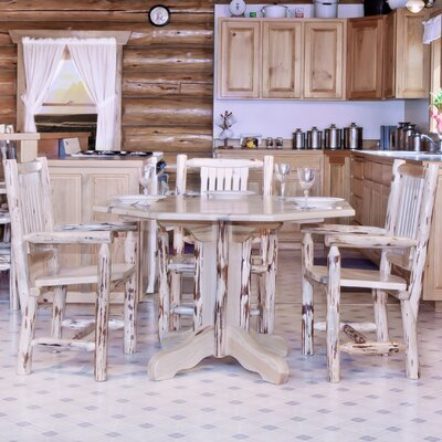 Montana Woodworks® Montana Table Center Pedestal Dining Table