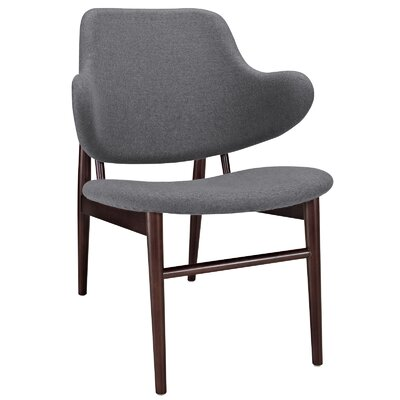 Modway Cherish Wood Lounge Chair