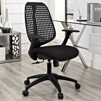 Modway Reverb Mid-Back Office Chair with Arms