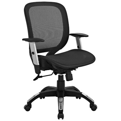 Modway Arillus Mid-Back Mesh Task Chair with Arms
