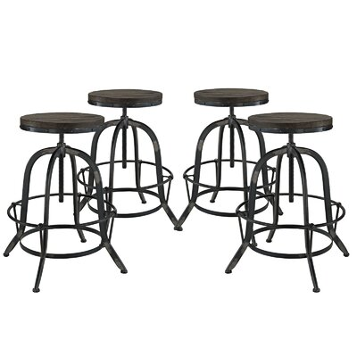 Modway Collect Adjustable Height Bar Stool (..