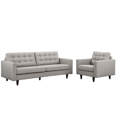 Modway Princess Arm chair and Sofa Set