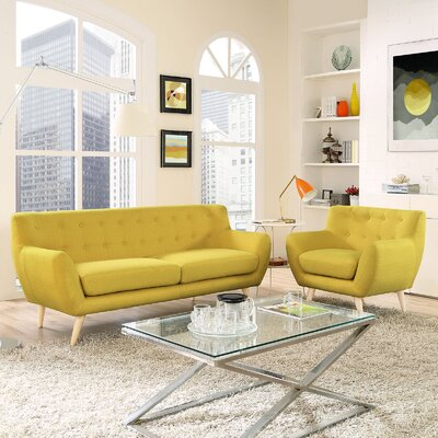 Modway Remark 2 Piece Living Room Set