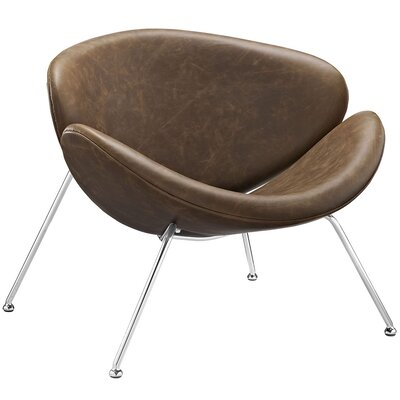 Modway Nutshell Lounge Chair with Cushion